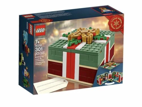 LEGO 40292 Christmas Gift Box Limitied Edition BRAND NEW SEALED