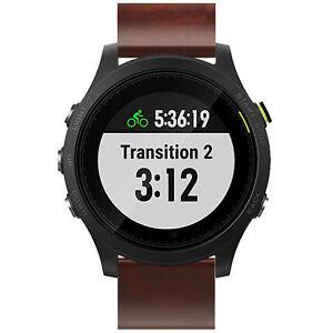 For-Garmin-Fenix-5-Forerunner-935-Genuine-Leather-Watch-Bracelet-Band-Strap