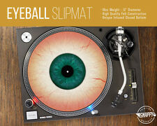 "Eyeball Turntable Slipmat - 12"" LP Record Player, DJ Eye Slip Mat"