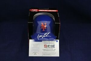 Doc-Gooden-Signed-Autographed-NY-Mets-Mini-Batting-Helmet-SCH-Authentic