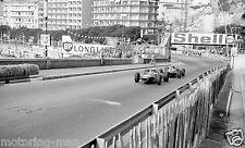 JACK BRABHAM bt19 Jochen Rindt COOPER MASERATI fotografia MONACO GRAND PRIX 1966