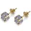Men-Square-Round-Solitaire-Hip-Hop-Gold-Diamond-Screw-Back-Stud-Earrings-8-6-4mm thumbnail 4