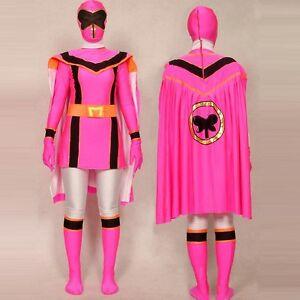 Pink Power Rangers Mystic Force Cosplay Adult Halloween Costume ...