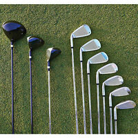 Mens 10 Piece Set Of Golf Clubs on sale