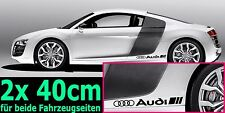 2x Audi Ringe Racing Sport S Line RS Aufkleber Sticker Performance Emblem Logo