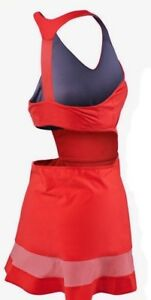 0ed9b813b Image is loading NIKE-Premier-Maria-Sharapova-Daring-Red-Racerback-Tennis-