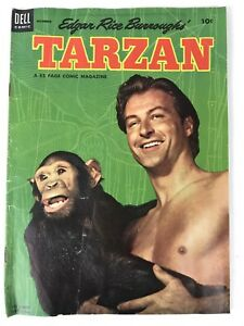 Vintage-Dell-Comic-TARZAN-Edgar-Rice-Burroughs-51-Dec-1953