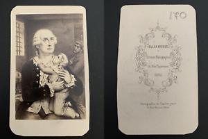 Bulla-Paris-Derniers-adieux-de-Louis-XVI-a-son-fils-Vintage-carte-de-visite-C