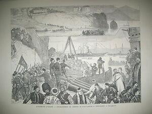 TURQUIE-CONSTANTINOPLE-FETVA-GUERRE-SAINTE-TREZIBONDE-CHEFS-MILITAIRES-1877