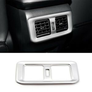 For Toyota RAV4 2019 2020 Rear Seat Air Conditioner Vent Outlet Panel Cover Trim
