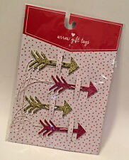 K/&Company Pink /& Gold Honeycomb Gift Tags 3 Pc