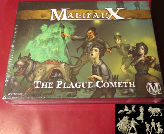 Malifaux 2E WYR20503 Outcasts The Plague Cometh Hamelin Crew Ratcatcher & Rats