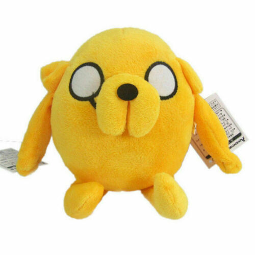 "8/"" Jake Plush Toy Adventure Time with Finn and Jake Kids Stuffed Toy Doll Gift"