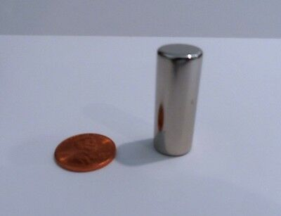 "Brand New Imperfect Neodymium Rare Earth Magnets N52 Grade 1/2"" x 1.25"" Cylinder"