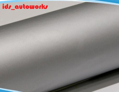 UK Durable Silver Matte Car Vinyl Wrap Bubble Air Free