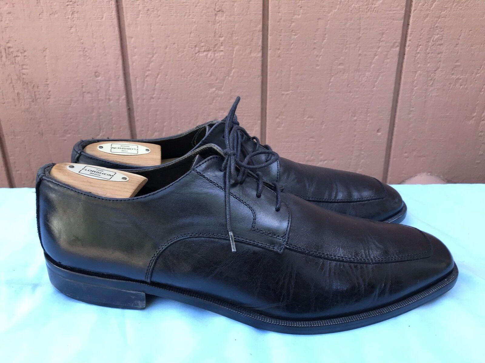promozioni eccitanti TO avvio NEW YORK Adam Derrick Derrick Derrick nero Square Toe scarpe Lace Up Uomo Sz US 9M A6  liquidazione fino al 70%