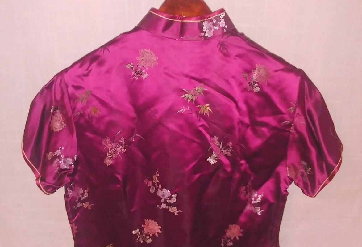 Classic Traditional Asian Chinese Cheong-sam Qipa… - image 6