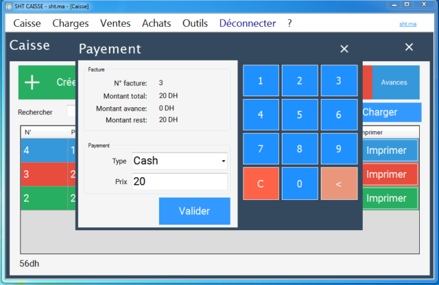 POS Software for restaurant and coffee 1 year license