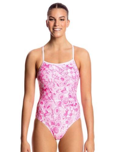 Funkita Ladies Single Strap One Piece Swimsuit FS15L01611 Novel Floral