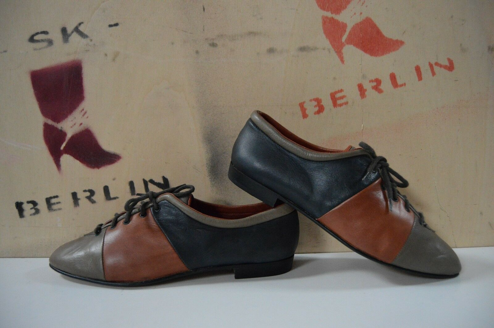 Chaussures basses Marc Made in  80er true vintage 80´s Chaussure Lacée Chaussures Mocassins