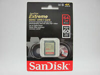 Sandisk 64g Extreme 4k Ultra Hd Sd Card For Sony Fdr-ax53 4k Ultra Hd Handycam