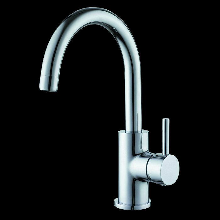 Waschtisch Armatur Wasserhahn Einhebelmischer Mischbatterie Chrom Messing PM1604