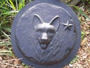 """Eclipse stepping stone mold over 1/"""" thick mould plaster concrete 11/"""" x 1.25/"""""""