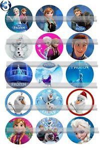 45c7ad0532 A imagem está carregando Frozen-Elsa-Anna-caracteres-15-pre-cortada-Imagens-