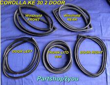 Toyota Corolla KE30 2 Door TE31  SET winshield seal & door weather strip 5 pcs