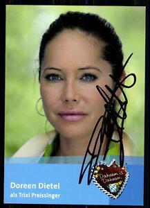 Doreen-Dietel-Dahoam-is-Dahoam-Autogrammkarte-Original-Signiert-BC-8754