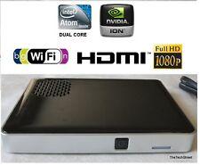 Intel Atom Dual Core Mini PC HTPC Compact Computer HDMI NVIDIA Wi-Fi XBMC SSD
