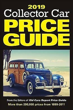 Classic Car Price Guide >> Collector Car Price Guide 2019 Collector Car Price Guide 2019 2018 Paperback