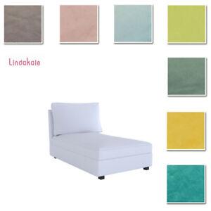 Custom-Made-Cover-Fits-IKEA-Kivik-Chaise-Lounge-Velvet-Fabric