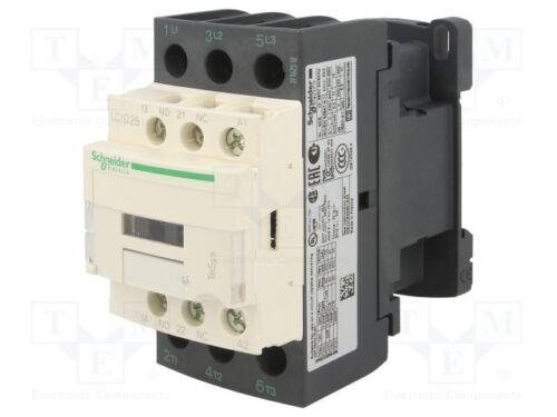 Schneider 3Pole contactor LC1D25P7 25amp 230Vac coil