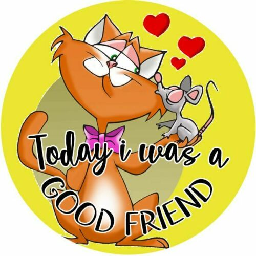 144 Today i was a Good Friend 30mm Reward Stickers for Teachers or Parents