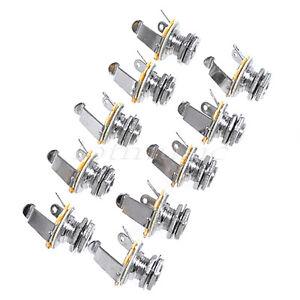 guitar mono jack wiring 10 pack    guitar       jack       mono    input output 1 4  for electric  10 pack    guitar       jack       mono    input output 1 4  for electric
