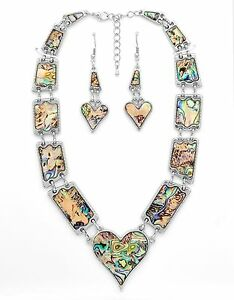Queen-of-Hearts-Natural-Abalone-Paua-Silver-Necklace-Earring-Set