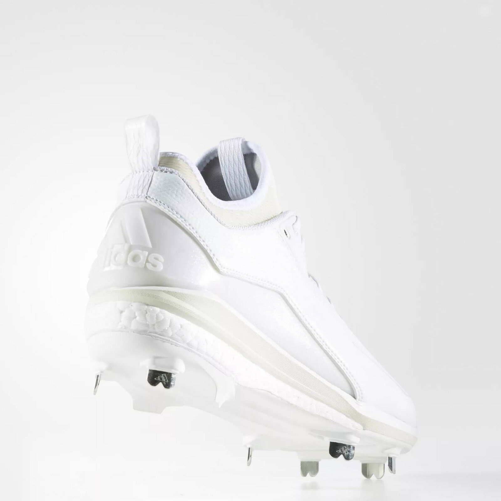 0834461f8 adidas Energy Boost Icon 2 2.0 White Metal Baseball Cleats B27499 8.5 for  sale online