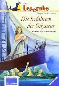Leserabe-Die-Irrfahrten-des-Odysseus-Sagen-fuer-Erstles-Buch-Zustand-gut