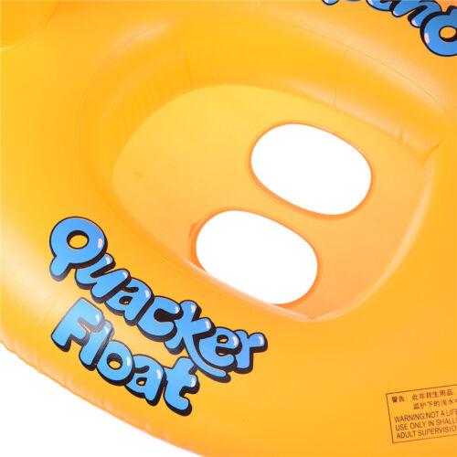 Baby-Enten-Float Sitz Boot Aufblasbare Schwimmring Außenpool Spielzeug ZP BCDE