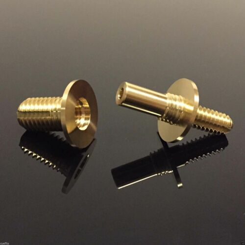 MALE-LOCK Pool Snooker Cue Cane Vacuum Quick Release Brass Screw Joint Pin Set