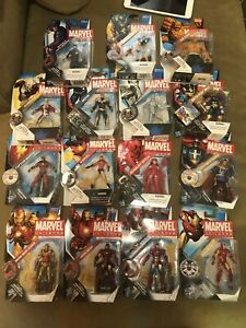 Hasbro-Marvel-Universe-3-75-Sealed-Avengers-Lot-Hawkeye-Iron-Man-Captain-Doctor