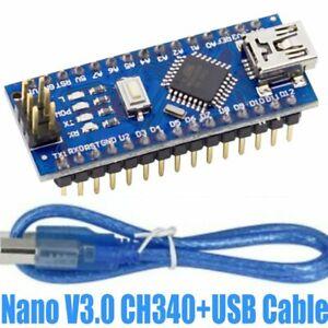 Mini-USB-Nano-V3-0-CH340-Chip-Board-5V-16M-Micro-Controller-Board-for-Arduino