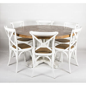 excellent image is loading with table ronde 140 cm. Black Bedroom Furniture Sets. Home Design Ideas