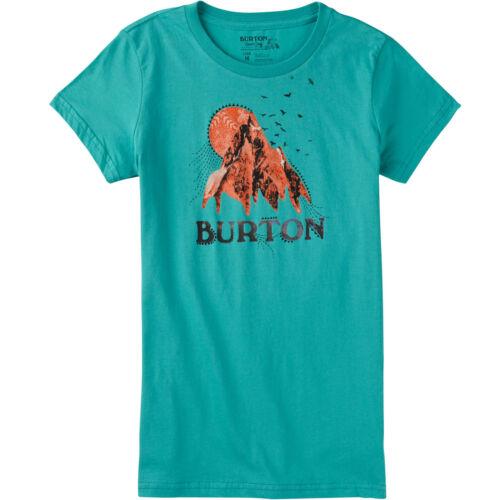 Burton Damen T-Shirt Oberteil Baumwolle Kurzarm Shortsleeve