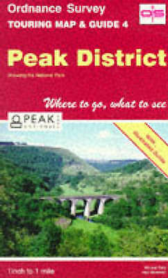 Peak District (Touring Maps & Guides), Ordnance Survey, Good Book