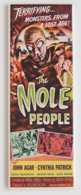 Mole People FRIDGE MAGNET insert movie poster horror