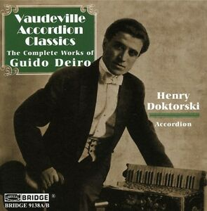 Vaudeville-Accordion-Classics-Complete-Works-by-Guido-Deiro-Double-CD
