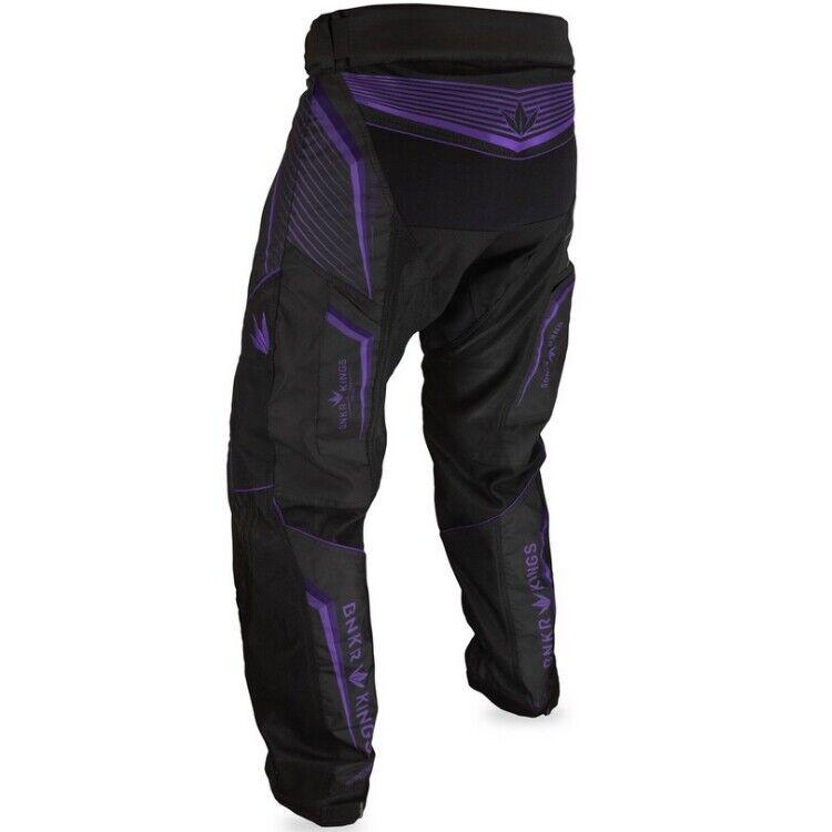 Bunkerkings v2 Supreme Pants Pantaloni Paintball porpora L
