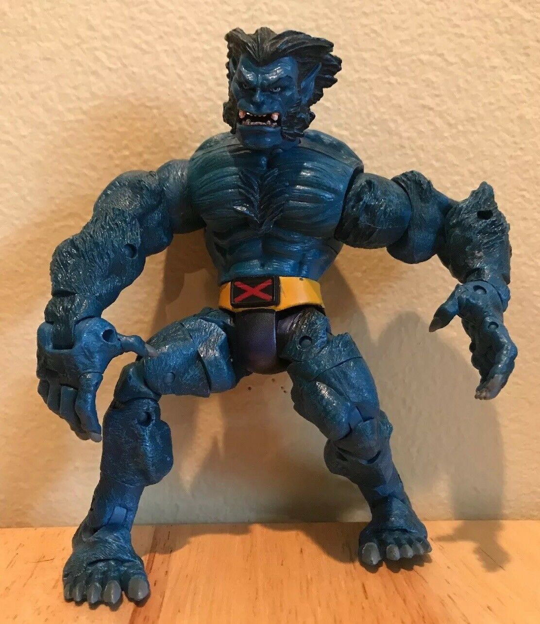 2003 Rare The Beast Action Figure Marvel Legends X-Men Comic Book